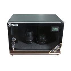 Tủ chống ẩm cao cấp Nikatei NC-20C viền nhôm mạ bạc