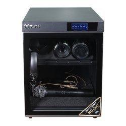Tủ chống ẩm cao cấp Nikatei NC-30C viền nhôm mạ bạc